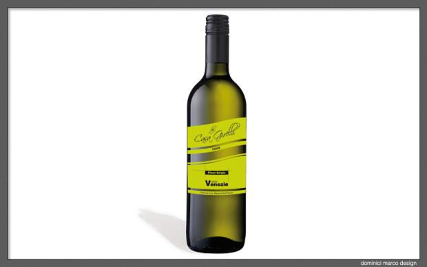 Grafica. Etichetta vino Girelli
