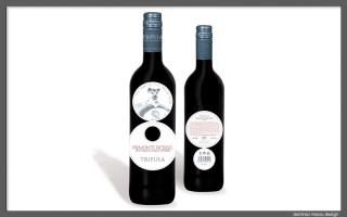 Grafica. Etichetta vino